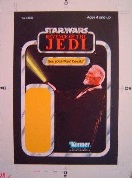 Ben (Obi-Wan) Kenobi - Revenge Cromalin