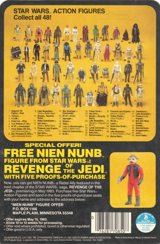 Revenge of the Jedi 48bk Rear